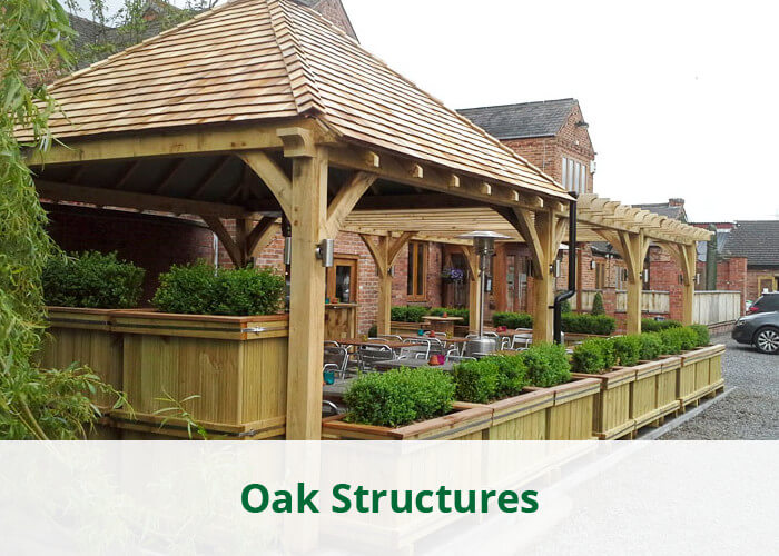 Oak Buildings & Structures - Whitmore's Timber