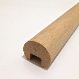 Oak Mopstick Handrail