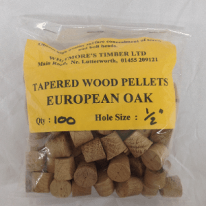 European oak pellets