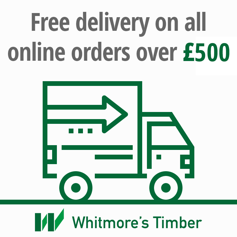 Free deliveries on orders over  £500