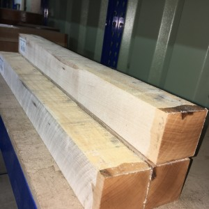 American Hard Maple - 50mm square x 600mm