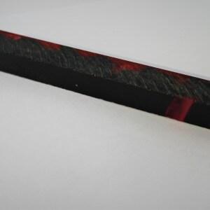 Lady in Red Acrylic Pen Blank