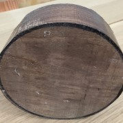 American Black Walnut Bowl Blank Cross Section