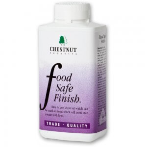 Chesnut Products Food Safe Finish