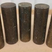 Lignum Vitae Cylinders - 5 pieces