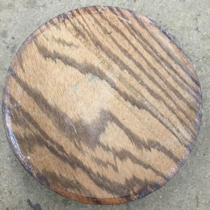 Zebrano Hardwood Timber Bowl Blank