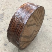 Zebrano Hardwood Timber Bowl Blank (2)