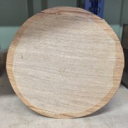 European Oak Bowl Turning