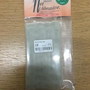 Chestnut net abrasive - 320 grit