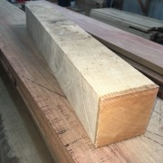 Ash Spindle Blank 80mm square