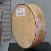 Sycamore Bowl Blank - 50mm x 200mm diameter sideview