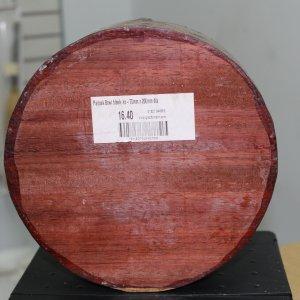 Padouk Bowl Blank - 75mm x 200mm diameter