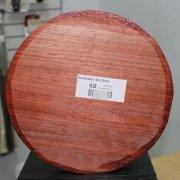 Padouk Bowl Blank - 50mm x 250mm dia.