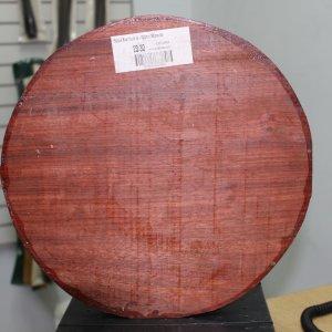 Padouk Bowl Blank - 50mm x 300mm dia.