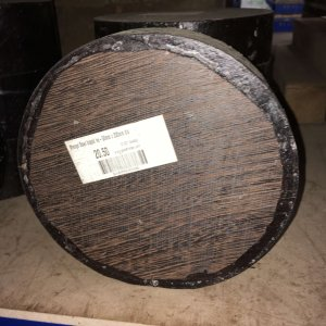Wenge Bowl Blank 50mm x 200mm