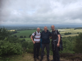 Whitmore's Timber team completing the Standstone Trail Challenge