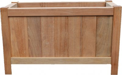 Wooden Planter 500 x 1000 x 600mm - side - Whitmore's Timber