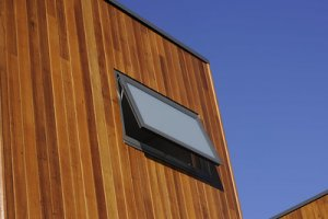 External cladding used for a university building | best wood for external cladding